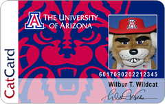 Example front of CatCard